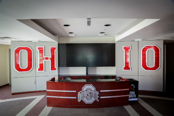 OSU Football recruit room