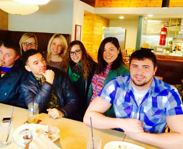 ColumBuzz Crew at Zoe Cafe