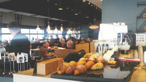 Inside Zoe Cafe